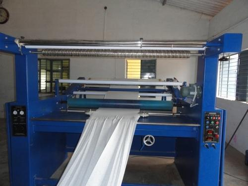 Fabric Open Width & Tubular Batching Machine